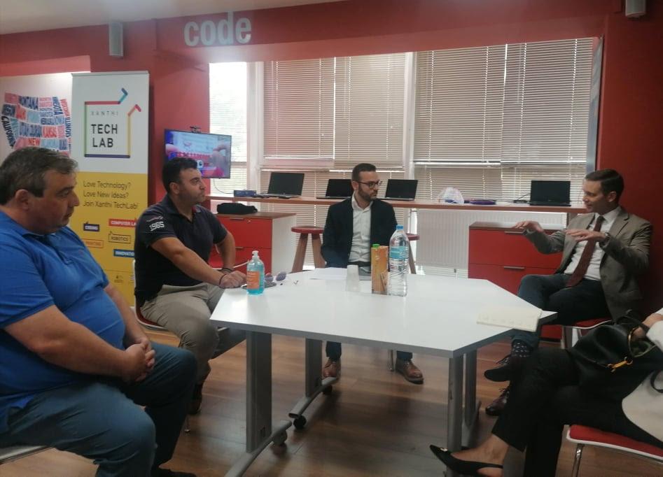 Γενικός Πρόξενος Η.Π.Α. στο Xanthi TechLab του Κέντρου Πολιτισμού Δήμου Ξάνθης