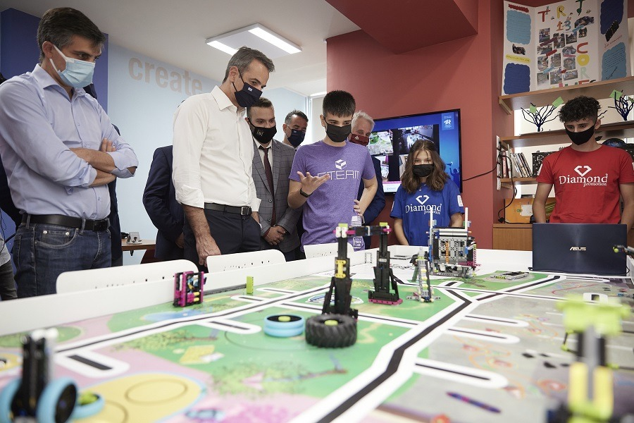 Eπίσκεψη του Πρωθυπουργού στο Xanthi TechLab
